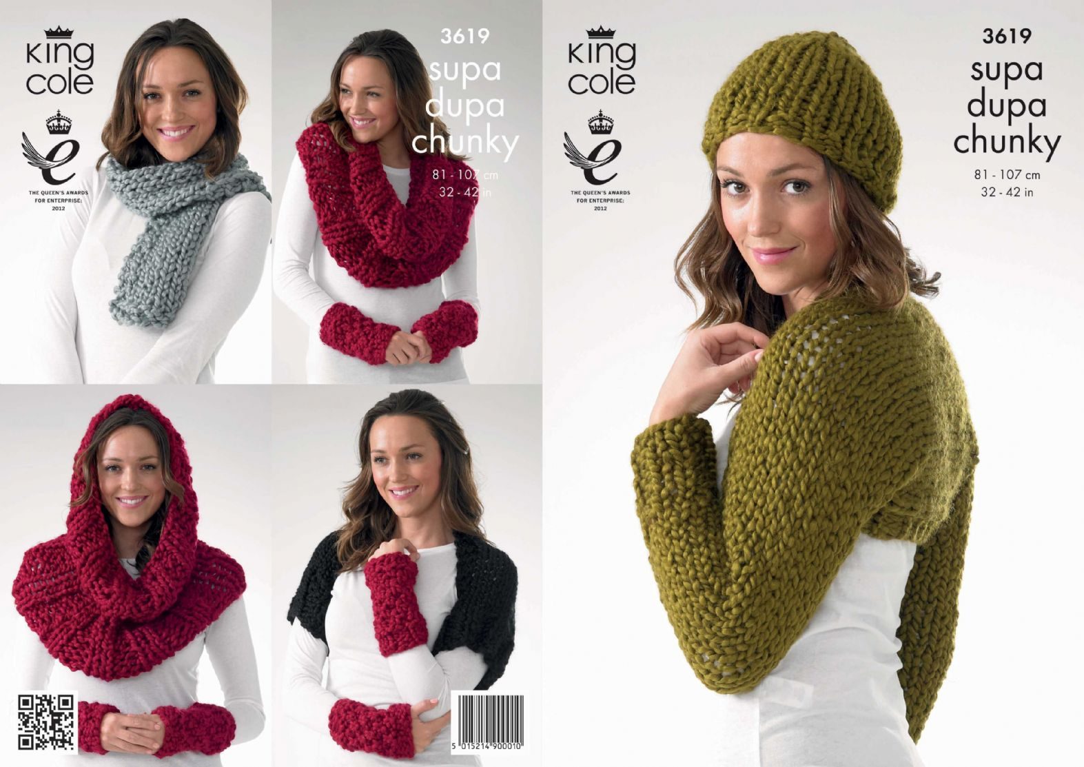 3619 king cole supa dupa extra chunky shrug snood scarf hat 3619 king cole supa dupa extra chunky shrug snood scarf hat knitting pattern to fit chest 32 to 42 bankloansurffo Images