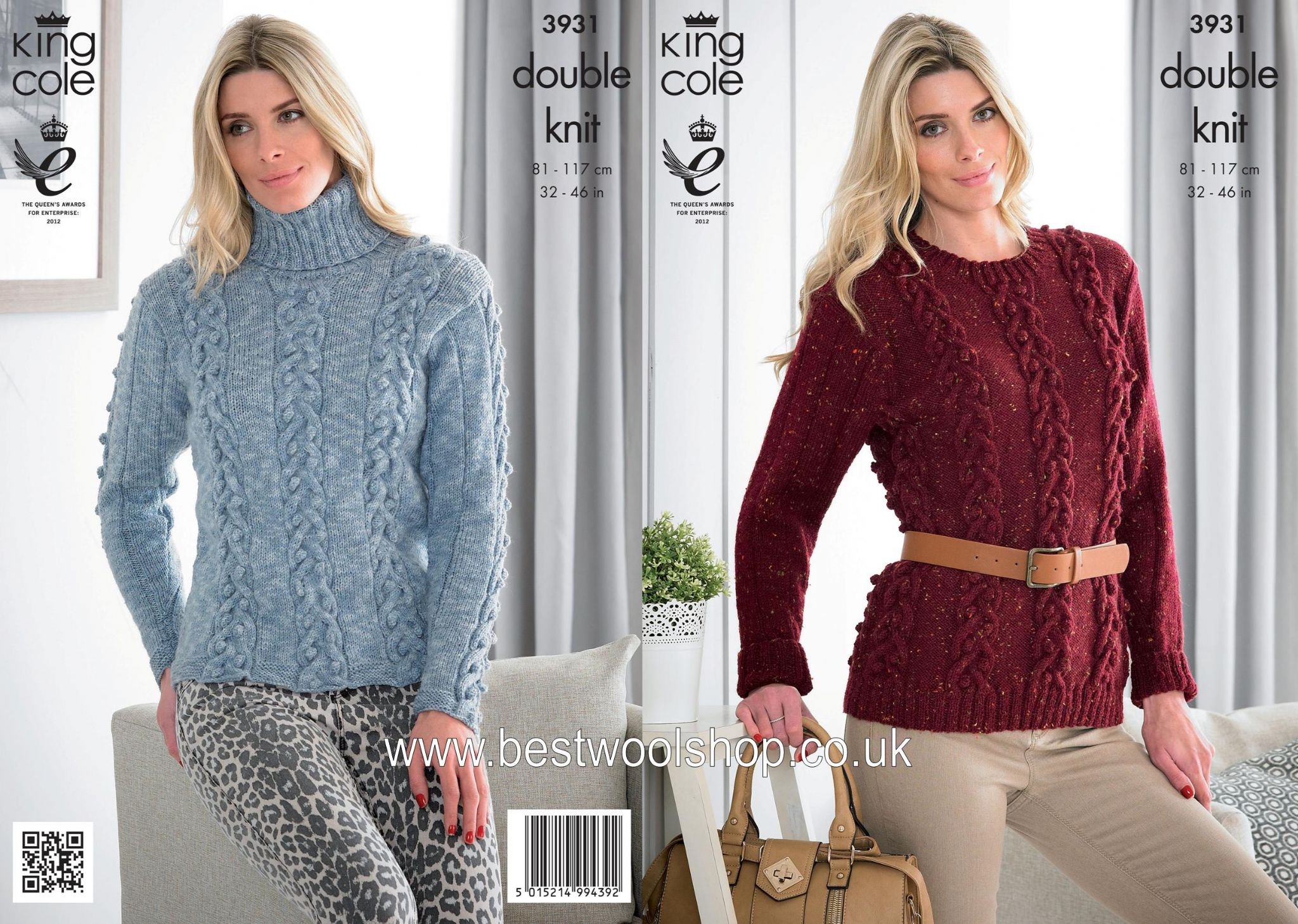 3931 king cole moods dk round polo neck cabled sweater 3931 king cole moods dk round polo neck cabled sweater knitting pattern to fit chest 32 to 46 4 bankloansurffo Image collections
