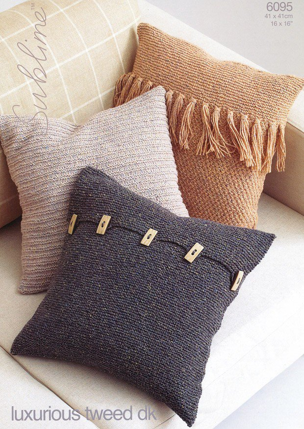 Free Cushion Cover Knitting Patterns Uk Choice Image Knitting