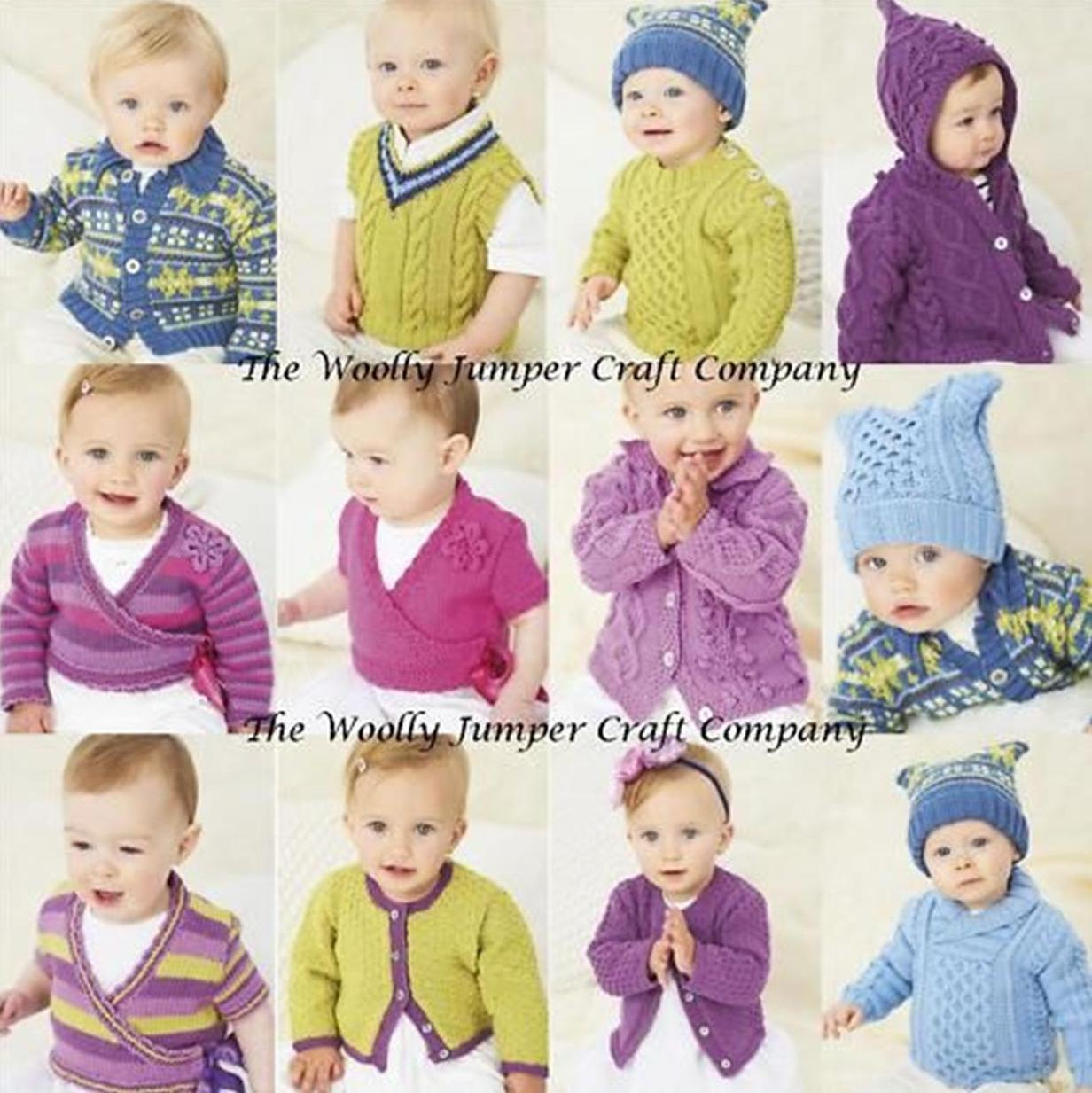 Sublime Knitting Pattern Books Babies : 649 - THE 8TH LITTLE SUBLIME HAND KNIT BOOK KNITTING PATTERN BOOKLET - TO FIT...