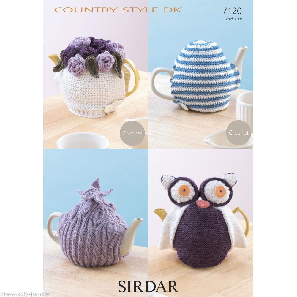Sirdar Dk Knitting Patterns : 7120 - SIRDAR COUNTRY STYLE DK TEA COSY - COSIES CROCHET & KNITTING PATTERN