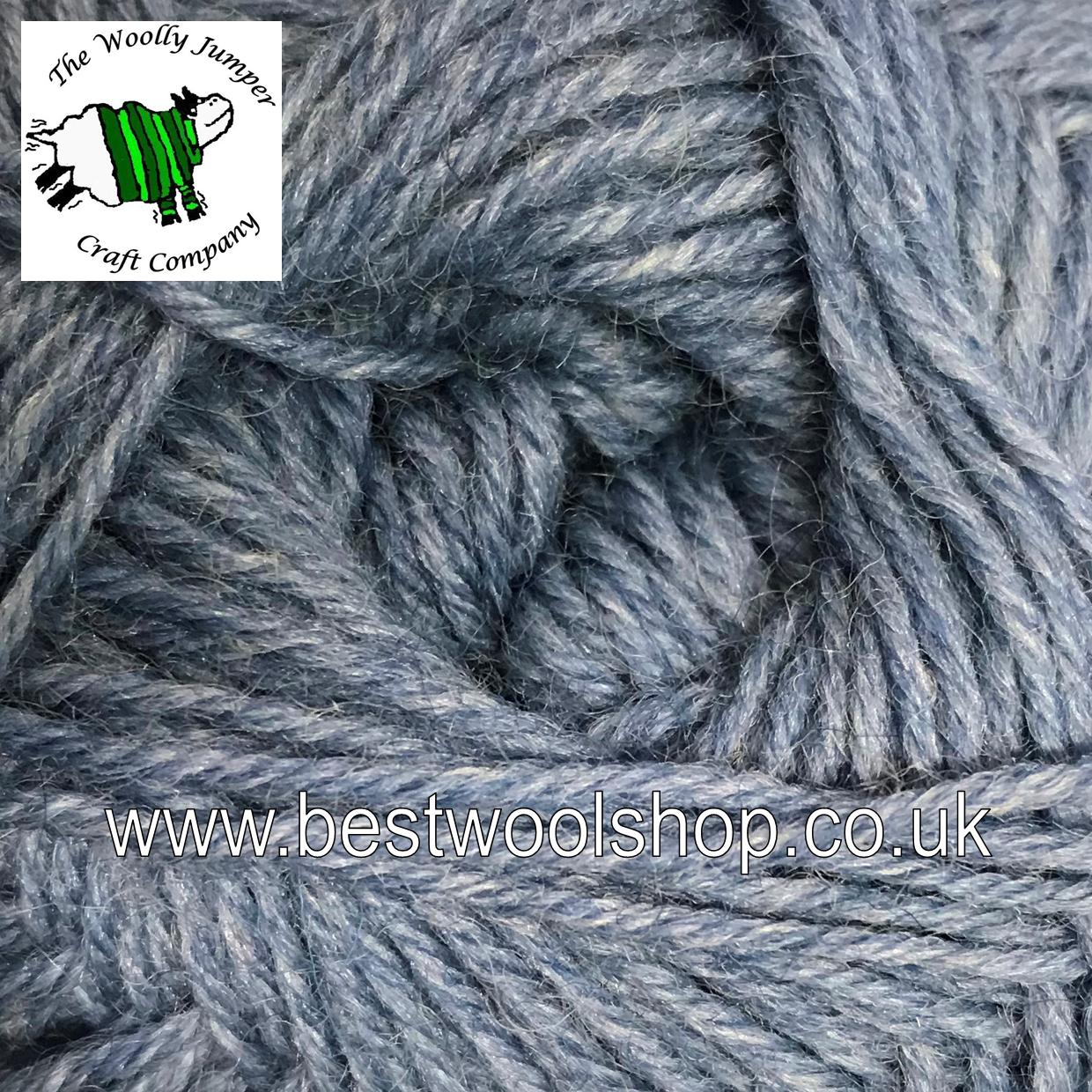 013 - LIGHT BLUE DENIM - GRUNDL HOT SOCKS UNI 50 4 PLY - KNITTING ...