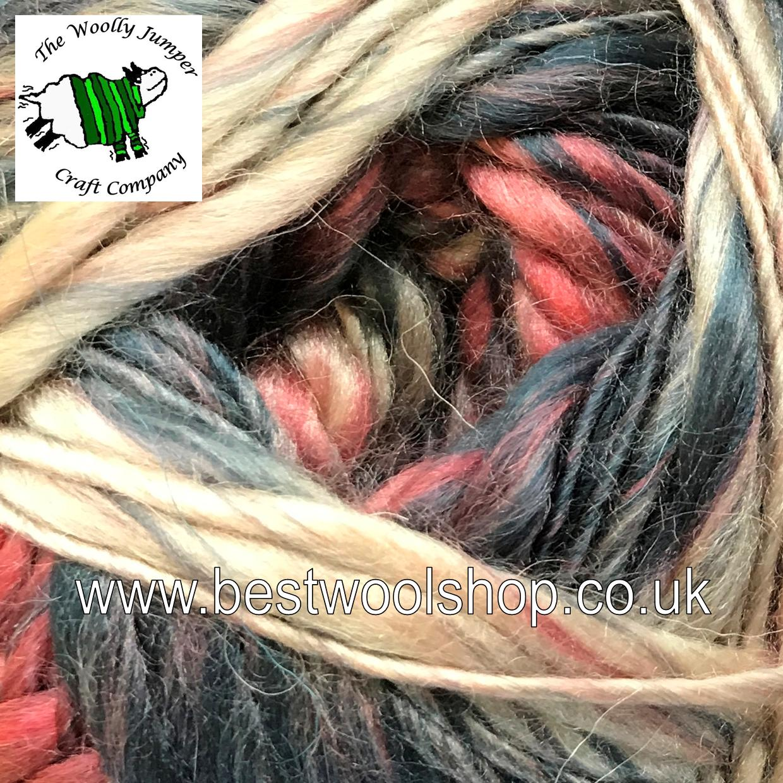 209 Paisley Sirdar Sylvan Chunky Multi Textured Knitting Crochet Yarn