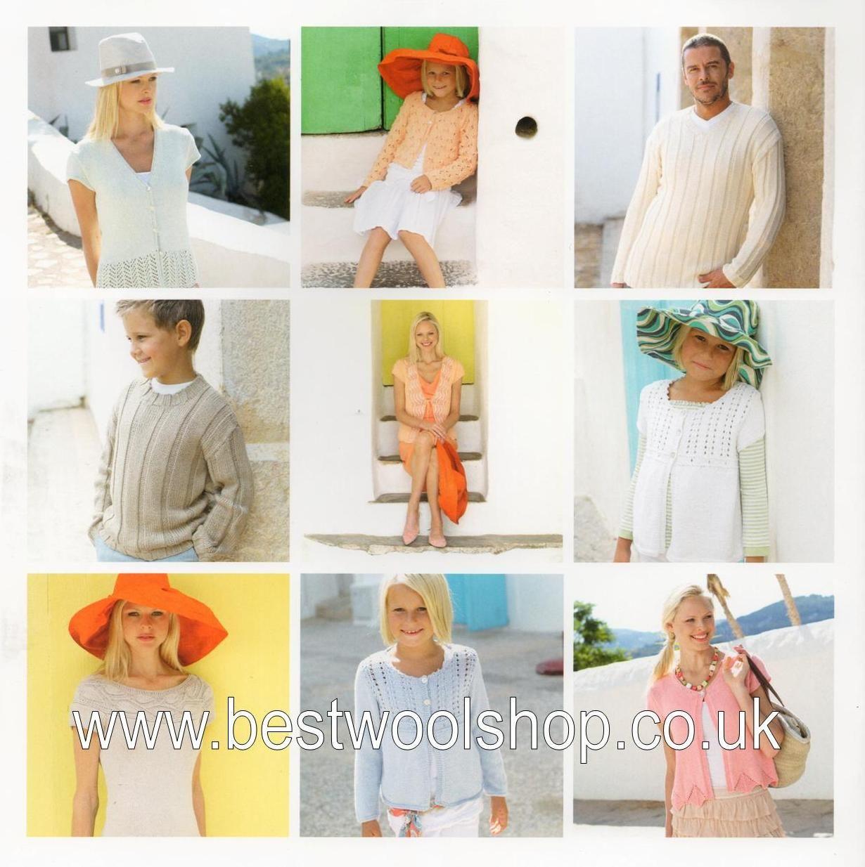 354 Sirdar Juicy Dk Knitting Pattern Booklet For Women Men Girls Boys
