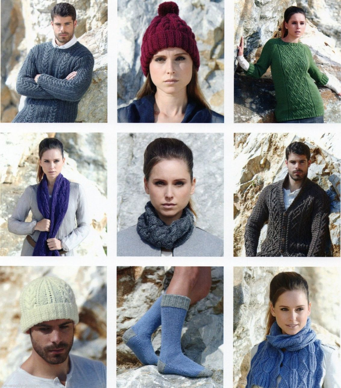 6fbda732e 471 - SIRDAR WOOL RICH ARAN KNITTING PATTERN BOOKLET - 22 KNITS FOR WOMEN    MEN