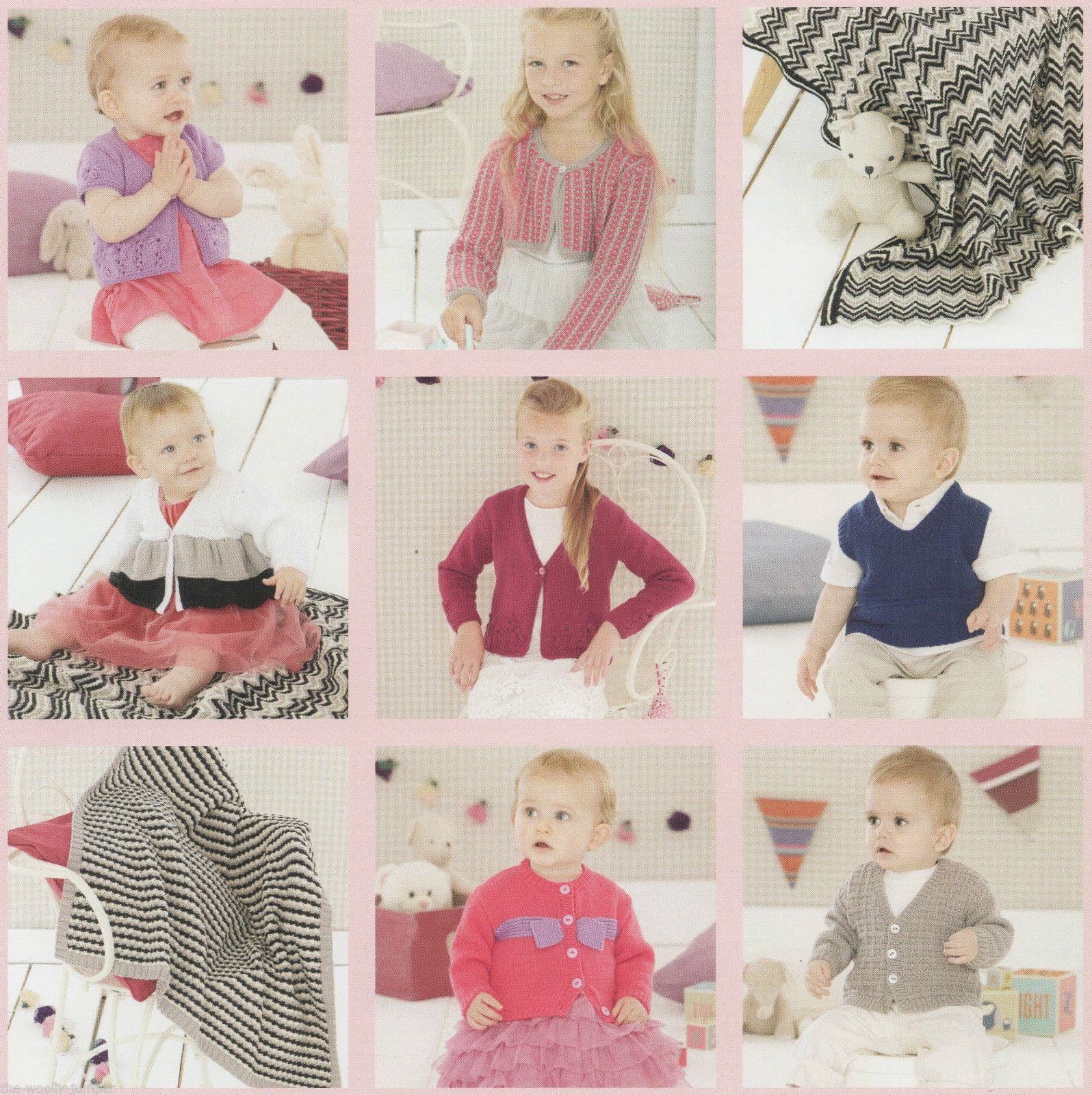 497 Sirdar Snuggly Dk Little Party Knits Knitting Pattern Booklet To Fit 0