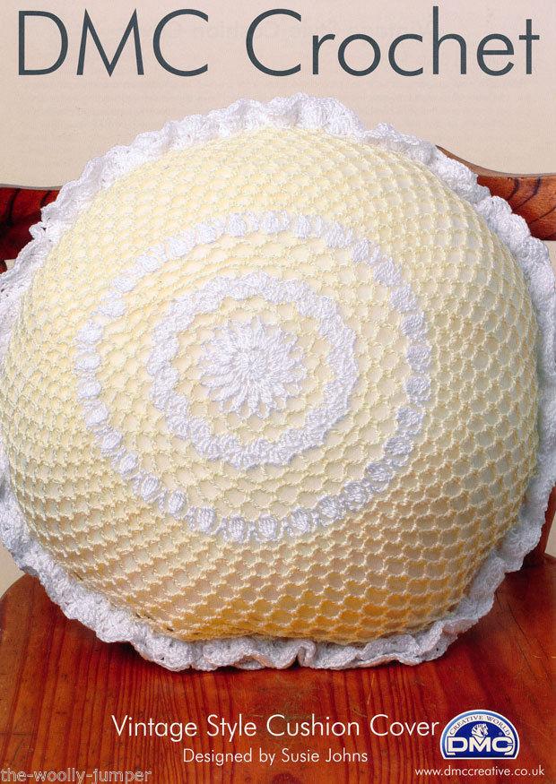 Dmc 11890l 2 Vintage Style Cushion Cover Crochet Pattern