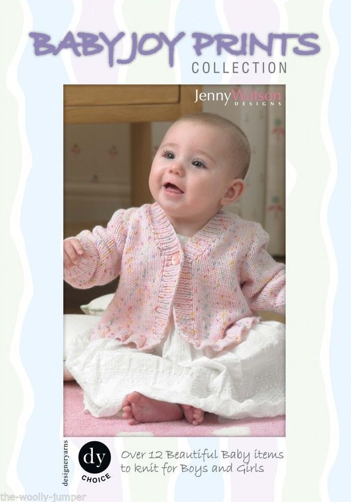 Dy Choice Baby Joy Dk Prints Collection Knitting Pattern