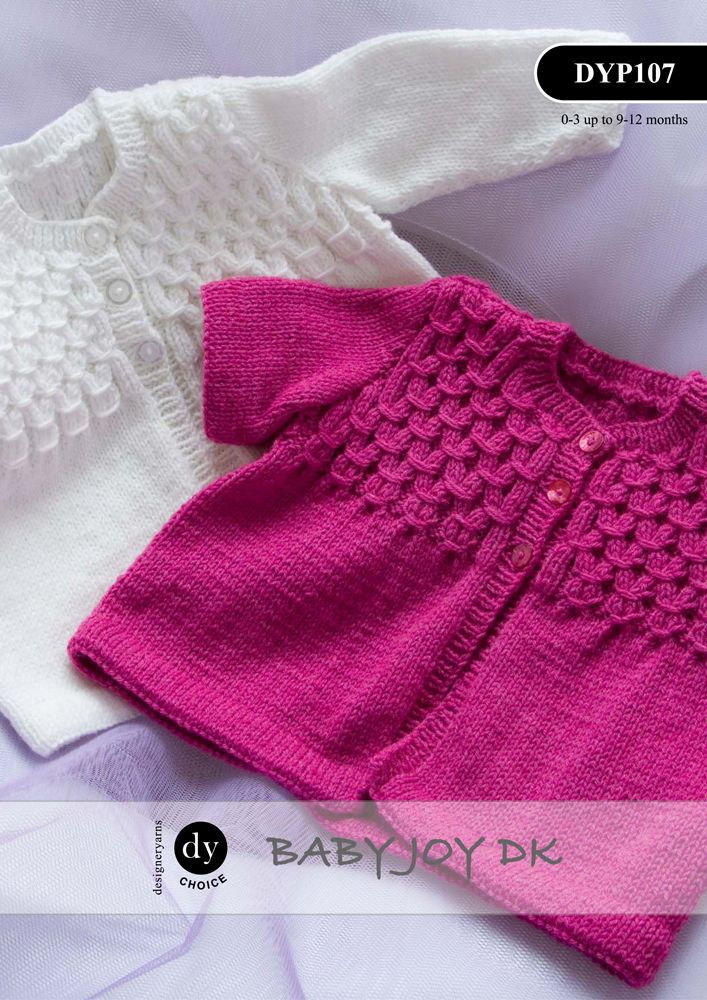 Dyp107 Dy Choice Baby Joy Dk Long Amp Short Sleeved