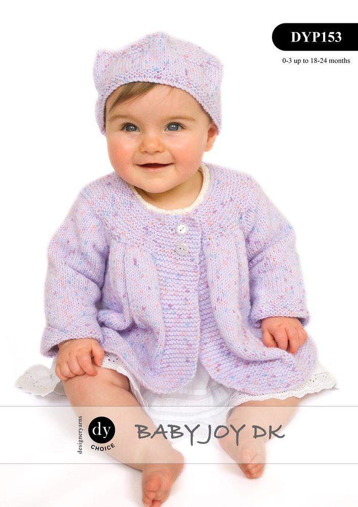 DYP153 - DY CHOICE BABY JOY DK CARDIGAN MATINEE JACKET & HAT ...