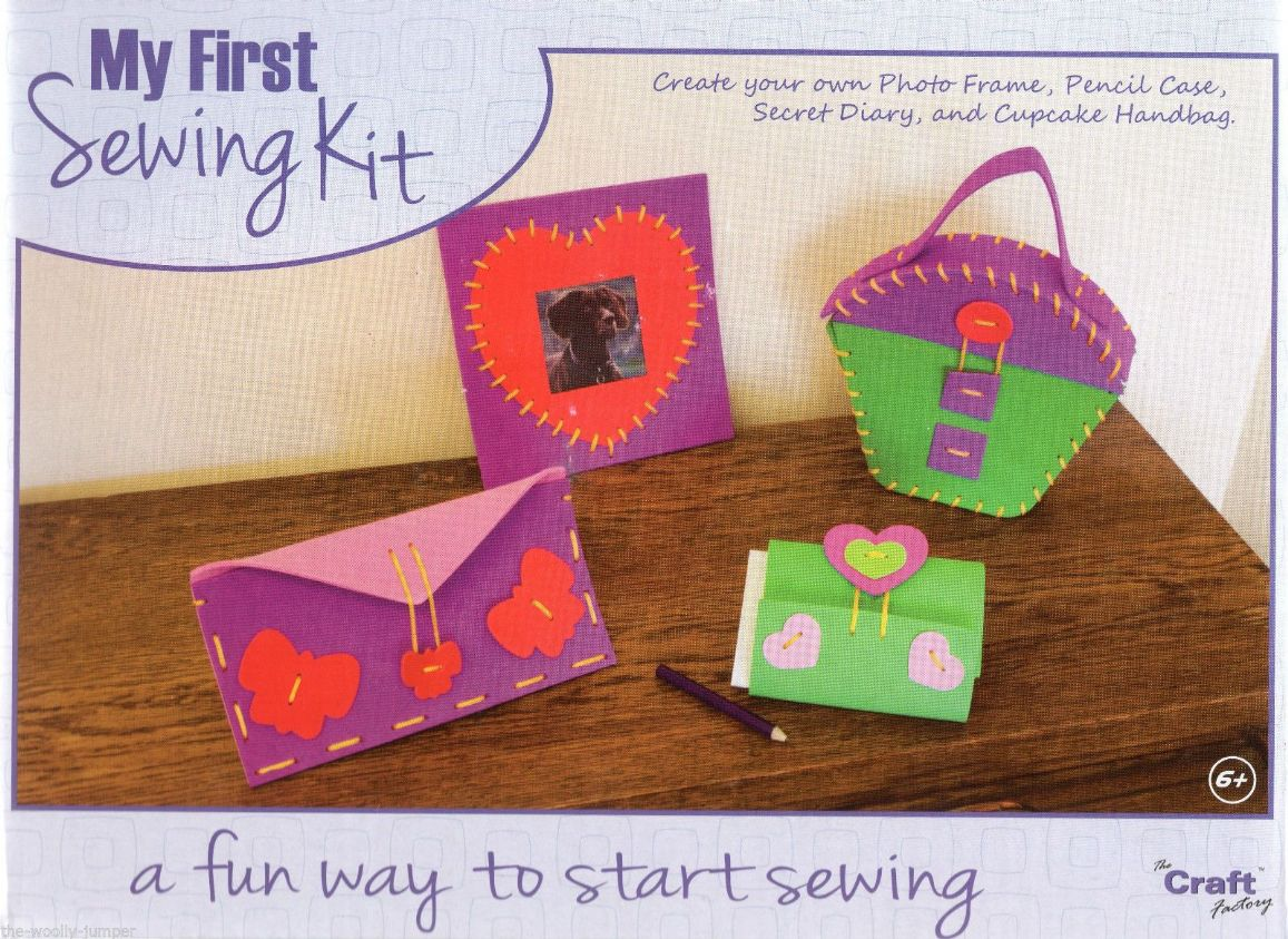 The Craft Factory My First Sewing Kit Create Your Own Photo